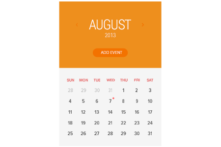 Picture of calendar representing the ability to have all the events in one unified calendar.